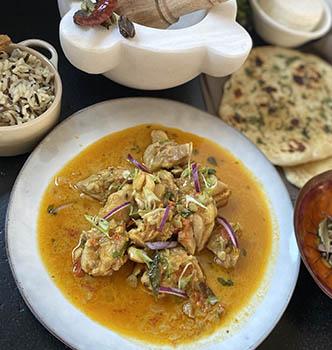 Chennai Coconut Chicken Curry